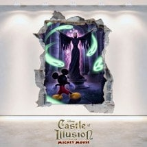 Vinilos Decorativos Infantiles Castle Of Illusion 3D