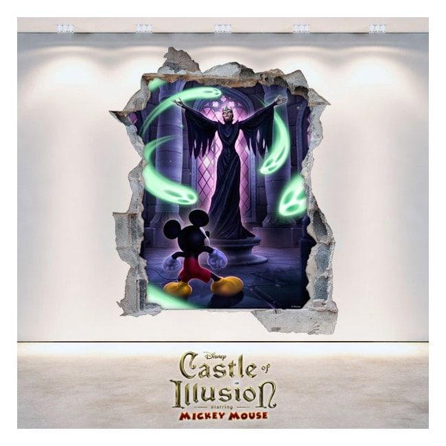 Vinilos Decorativos Infantiles Castle Of Illusion 3D