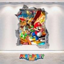 Vinilos Videojuegos 3D Mario Party DS