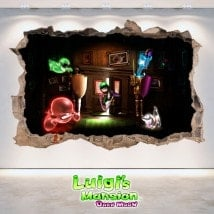 Vinilos Y Pegatinas Luigi's Mansion Dark Moon