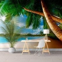 Fotomurales Palmeras En La Playa