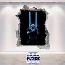 Vinilos Decorativos Star Wars The Force Unleashed 2