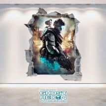 Vinilos Decorativos 3D Tom Clancy's Ghost Recon Future Soldier
