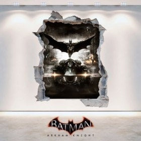 Vinilos Decorativos Batman Arkham Knight 3D