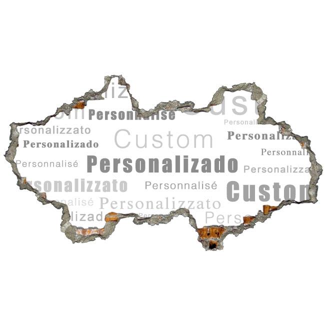 Vinilos 3d personalizados paredes for Vinilos personalizados