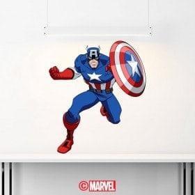 Vinilos Decorativos Capitán América