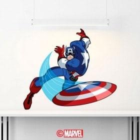 Vinilos Capitán América