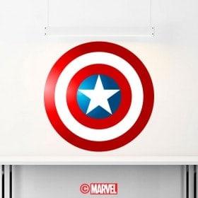 Vinilos Decorativos Escudo Capitán América