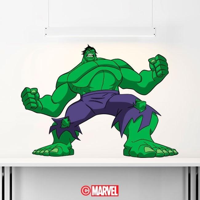 Vinilos Decorativos Hulk
