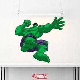 Vinilos Y Pegatinas Hulk