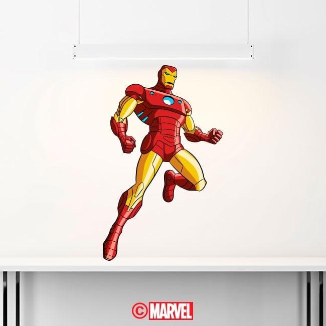 Vinilos Y Pegatinas Iron Man