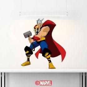 Vinilos Y Pegatinas Marvel Thor