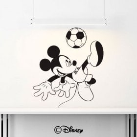 Vinilos Mickey Mouse Fútbol