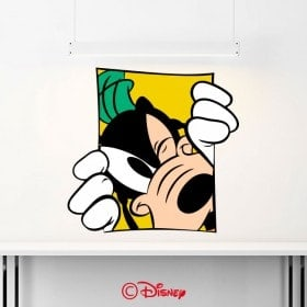 Vinilos Paredes Goofy Disney