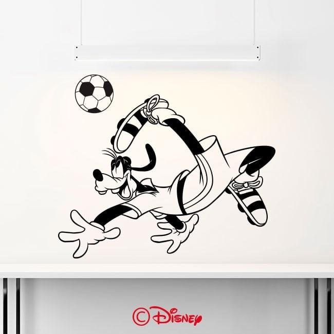 Vinilos Decorativos Goofy Fútbol
