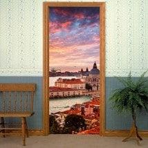 Vinilos Decorativos Puertas Canal Venecia