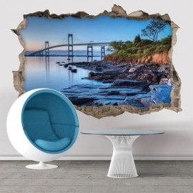 Vinilos 3D Puente De Newport