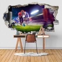 Vinilos Fútbol Americano 3D