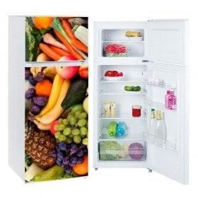 Vinilos para frigoríficos y neveras frutas