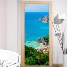 Vinilos para puertas Monterosso al Mare
