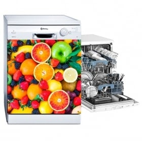 Pegatinas y vinilos para lavavajillas frutas