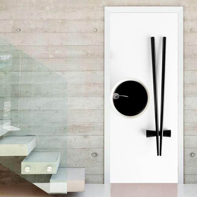 Vinilos puertas cristal cocina good vinilos decorativos - Vinilo puerta cristal ...