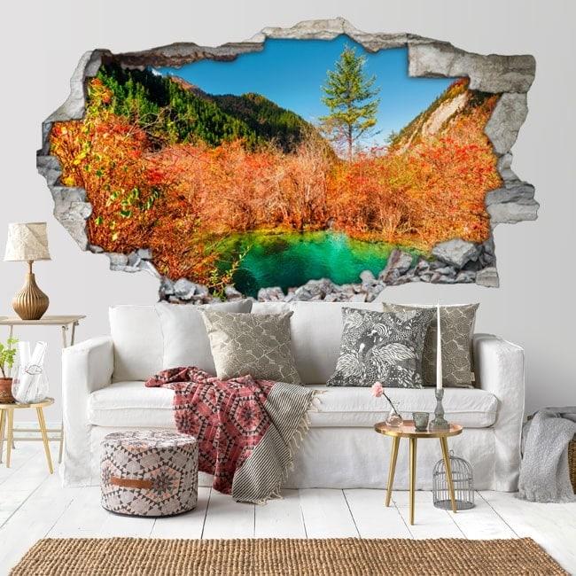 Vinilos Decorativos 3d Colores Naturaleza