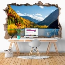 Vinilos 3D reserva natural Jiuzhaigou China