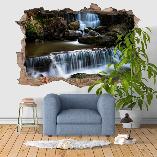 Vinilos decorativos 3d cascada ferven a portugal for Vinilos decorativos 3d