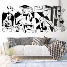 Vinilo decorativo Guernica Picasso