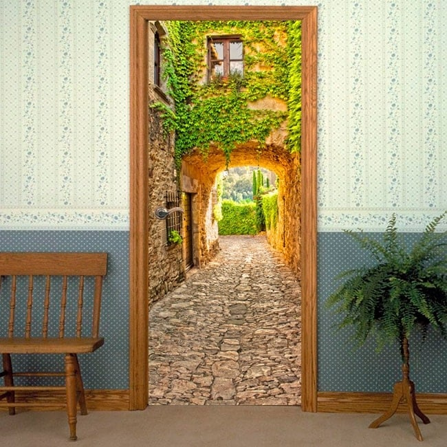 Vinilos decorativos puertas peratallada catalu a espa a for Vinilos decorativos puertas