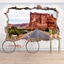 Vinilos de pared parque nacional de los arcos 3D