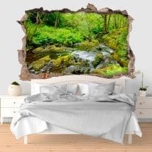 Vinilos paredes 3D Gales parque nacional Snowdonia