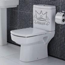 Vinilos para baños el sillón del rey