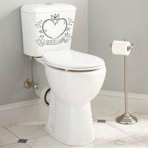 Vinilos para aseos y baños el sillón de la reina