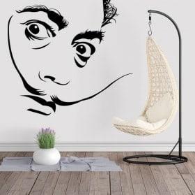 Vinilos decorativos Salvador Dalí