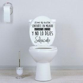Vinilos para baños apunta bien