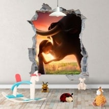 Vinilos infantiles Ferdinando 3D