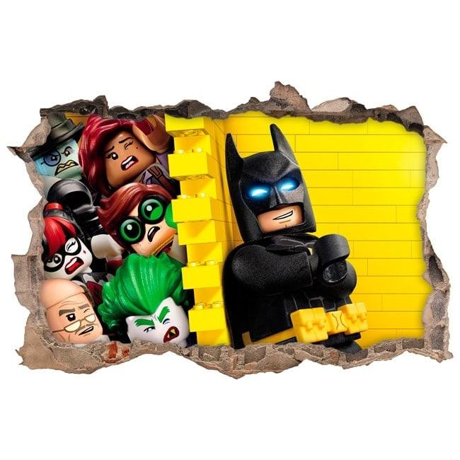 Vinilos infantiles batman lego 3d for Vinilos 3d infantiles