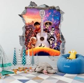 Vinilos infantiles Coco Disney Pixar