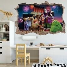 Vinilos decorativos Hotel Transylvania 3D