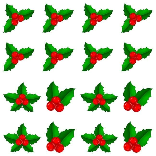 Vinilos decorativos flores navidad - Decorativos de navidad ...