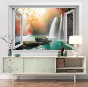 Vinilos cascadas Heo Suwat 3D