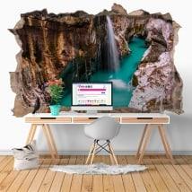 Vinilos cascadas en Eslovenia 3D