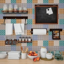 Vinilos decorativos azulejos adhesivos