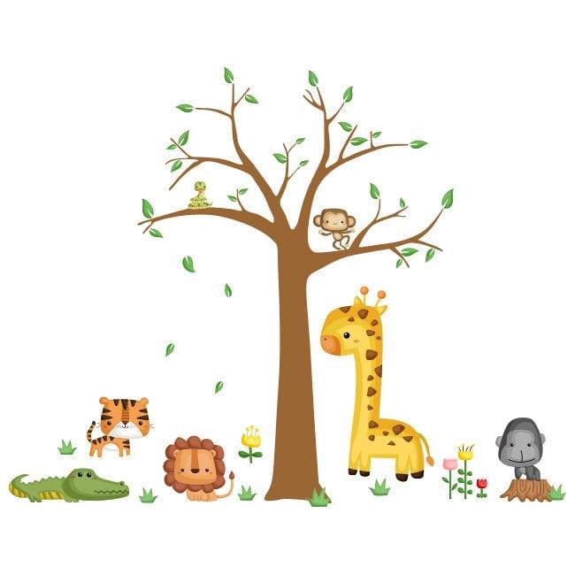 Vinilos infantiles y pegatinas de animales for Pegatinas infantiles