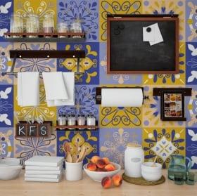 Vinilos decorativos azulejos paredes
