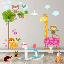 Vinilos infantiles animales naturaleza