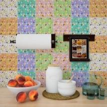 Vinilos azulejos adhesivos
