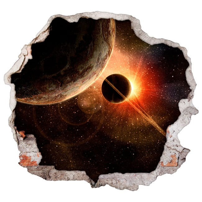 Vinilos Decorativos Planetas.Vinilos Decorativos Planetas Y Cosmos 3d